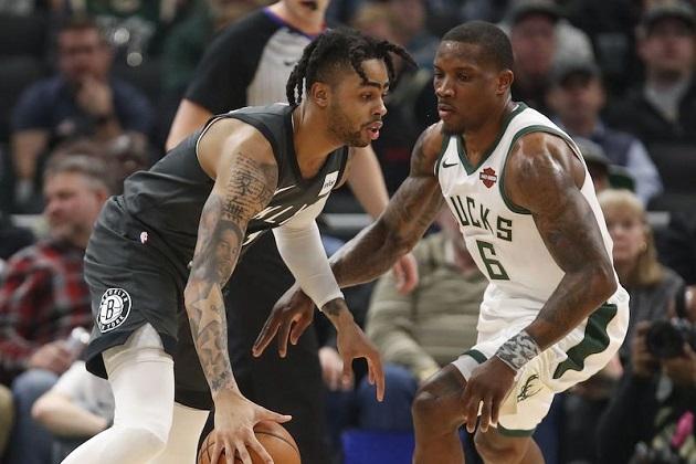 18-19 #140 : Milwaukee Bucks Vs Brooklyn Nets