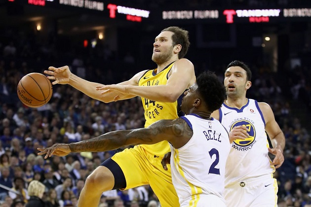 17-18 #131 : Golden State Warriors vs Indiana Pacers - DD ...